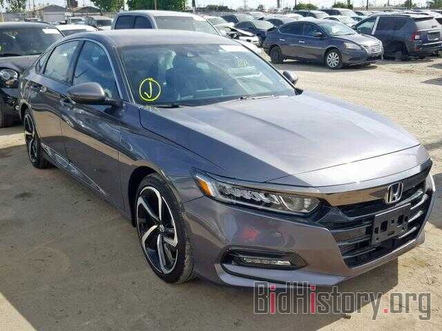Photo 1HGCV1F33JA151496 - HONDA ACCORD SPO 2018