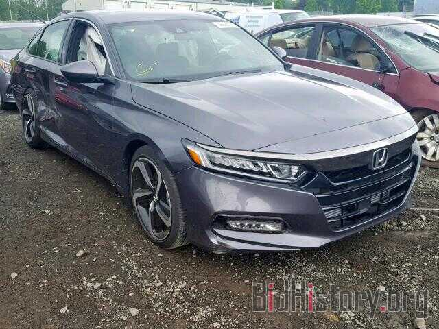 Photo 1HGCV1F34JA149983 - HONDA ACCORD SPO 2018