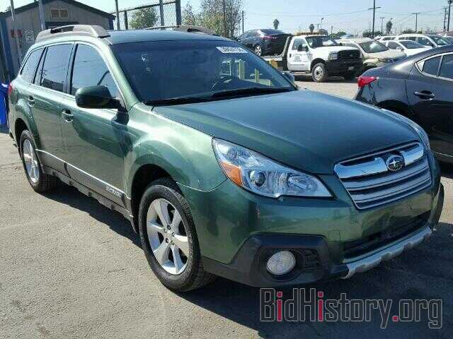 Photo 4S4BRBLC7E3220558 - SUBARU OUTBACK 2014