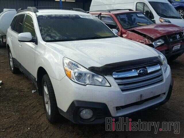Photo 4S4BRBCC1E3203688 - SUBARU OUTBACK 2014