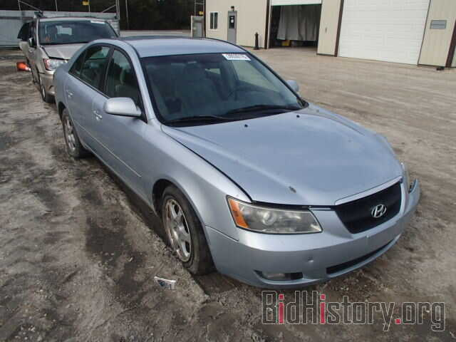 Photo 5NPEU46F46H070724 - HYUNDAI SONATA 2006