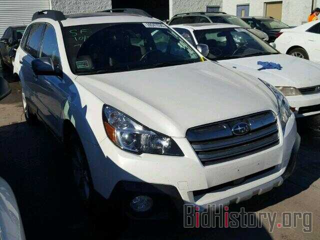 Photo 4S4BRCPC2E3292087 - SUBARU OUTBACK 2014