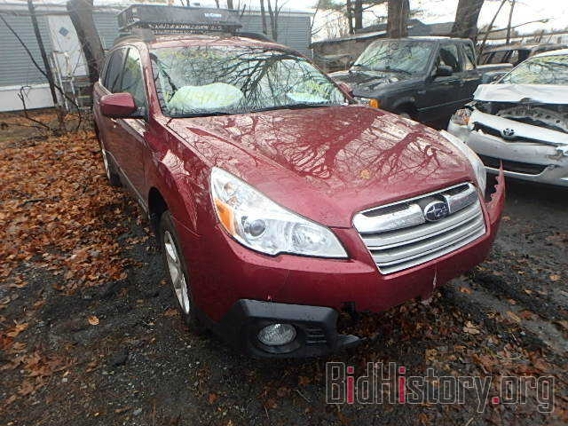 Photo 4S4BRCCC1E3228189 - SUBARU OUTBACK 2014