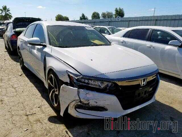 Photo 1HGCV1F30JA164190 - HONDA ACCORD SPO 2018