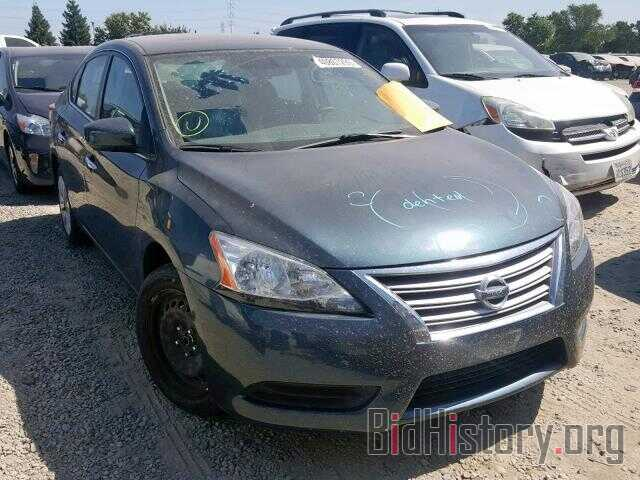 Photo 3N1AB7AP0EY209564 - NISSAN SENTRA 2014
