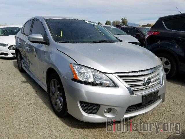 Photo 3N1AB7AP6EL623848 - NISSAN SENTRA 2014