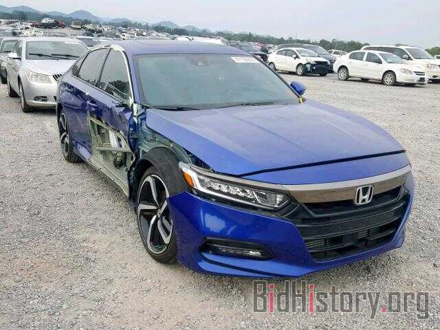 Photo 1HGCV2F38JA008386 - HONDA ACCORD SPO 2018