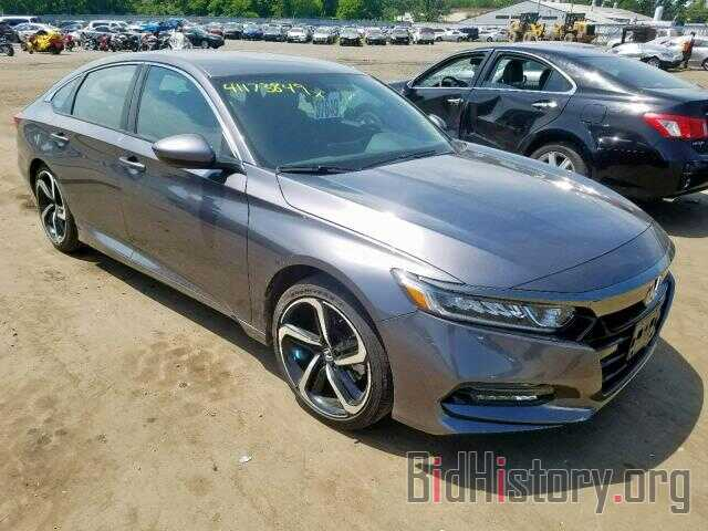 Photo 1HGCV1F36JA181172 - HONDA ACCORD SPO 2018