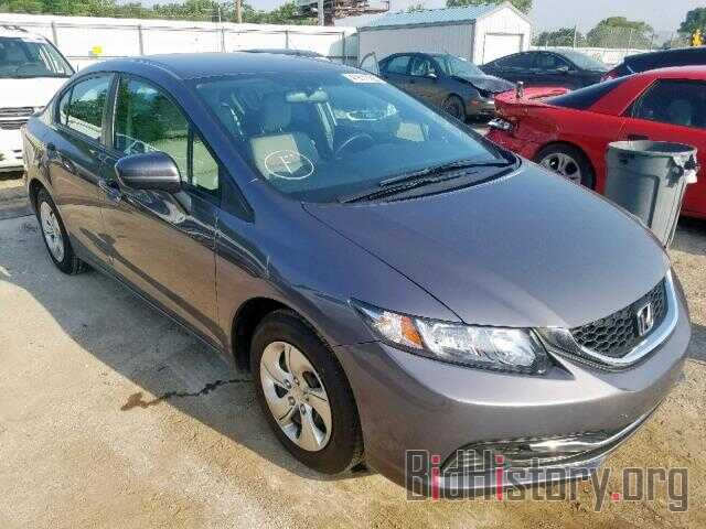 Photo 19XFB2F5XFE107236 - HONDA CIVIC LX 2015