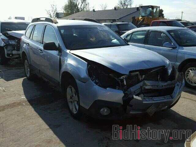 Photo 4S4BRBACXE3310483 - SUBARU OUTBACK 2014