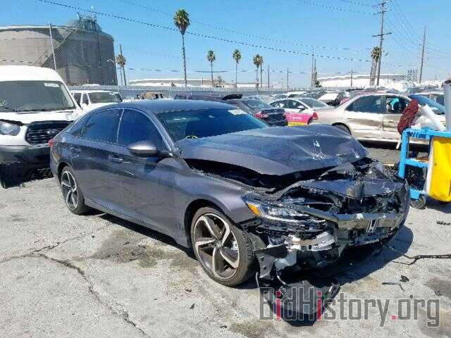 Photo 1HGCV1F38JA163188 - HONDA ACCORD SPO 2018