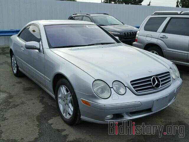 Photo WDBPJ75J71A018690 - MERCEDES-BENZ CL500 2001