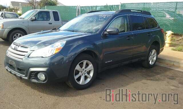 Photo 4S4BRBDC5E3262564 - SUBARU OUTBACK 2014