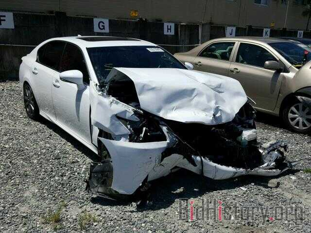 Photo JTHBE1BL2FA009307 - LEXUS GS350 2015