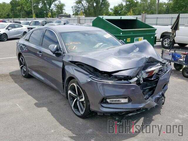 Photo 1HGCV1F36JA076616 - HONDA ACCORD SPO 2018