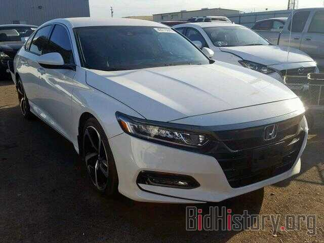 Photo 1HGCV1F32JA209372 - HONDA ACCORD SPO 2018
