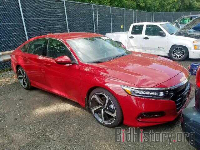 Photo 1HGCV1F31JA135488 - HONDA ACCORD SPO 2018