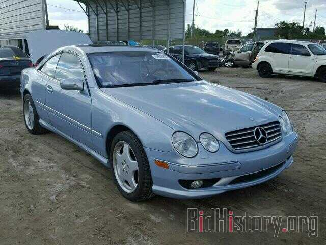 Photo WDBPJ75J81A015670 - MERCEDES-BENZ CL500 2001