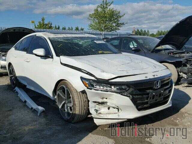 Photo 1HGCV1F37JA803844 - HONDA ACCORD SPO 2018