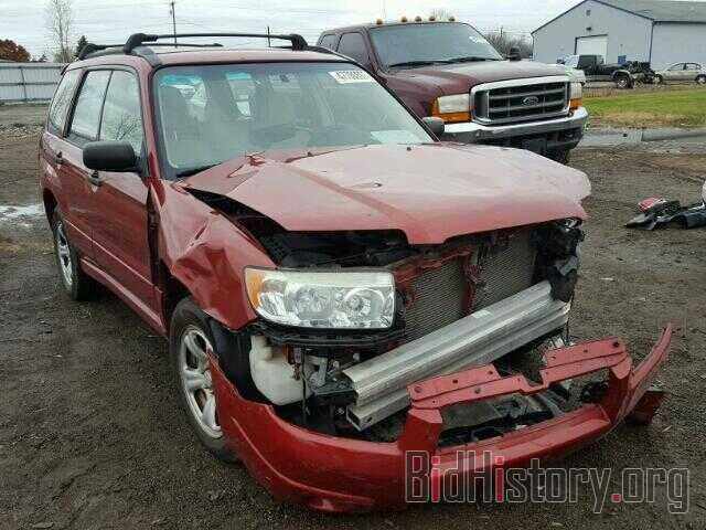 Photo JF1SG63617G726044 - SUBARU FORESTER 2007