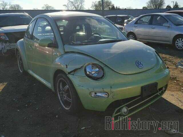 Photo 3VWDC21C31M431134 - VOLKSWAGEN BEETLE 2001