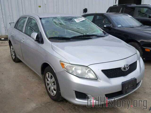 Photo 2T1BU4EE6AC302425 - TOYOTA COROLLA BA 2010