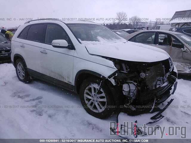 Photo 5XYKTCA64EG483563 - Kia Sorento 2014