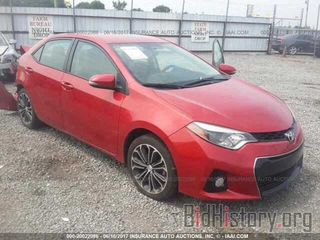 Photo 5YFBURHE6FP288073 - Toyota Corolla 2015