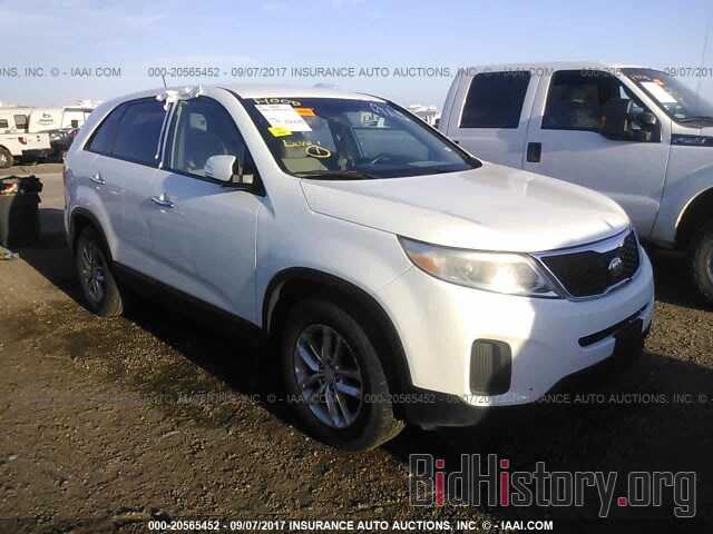 Photo 5XYKT3A66EG447549 - Kia Sorento 2014