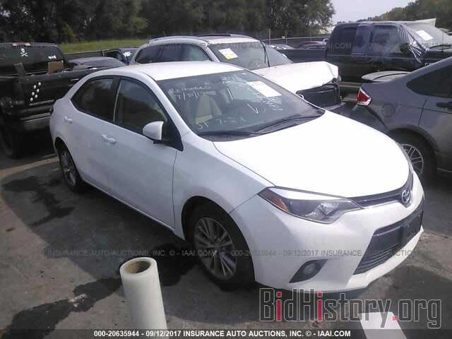 Photo 5YFBURHEXFP228006 - Toyota Corolla 2015