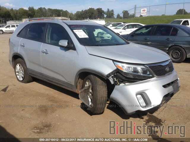 Photo 5XYKTCA62EG496893 - Kia Sorento 2014