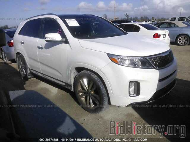 Photo 5XYKW4A79EG491101 - Kia Sorento 2014