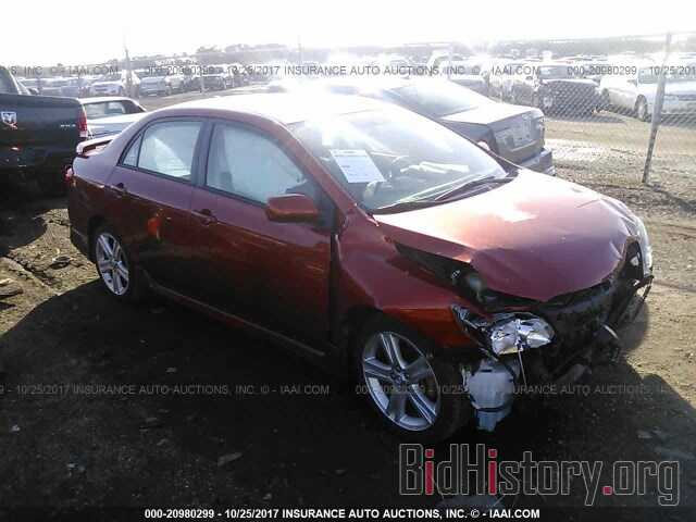 Photo 2T1BU4EE0DC082445 - Toyota Corolla 2013