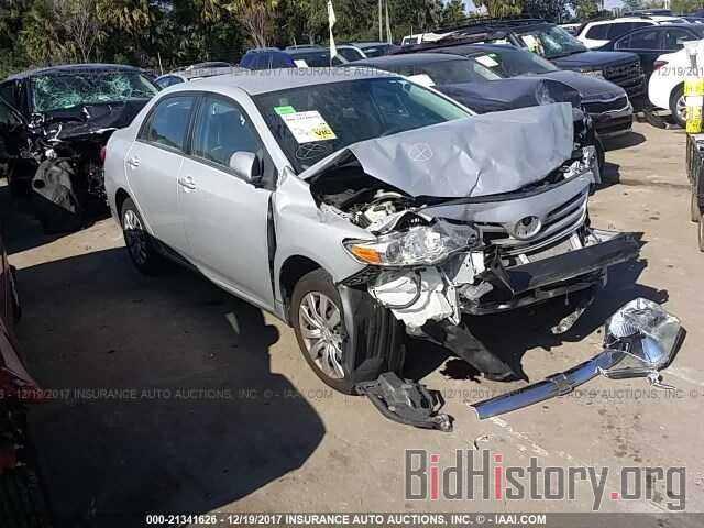 Photo 2T1BU4EE2DC076727 - Toyota Corolla 2013