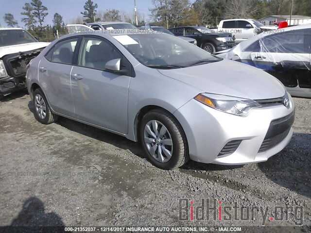 Photo 5YFBURHE5FP332449 - Toyota Corolla 2015