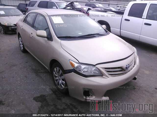 Photo 2T1BU4EE8DC023112 - Toyota Corolla 2013