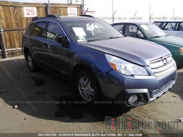Photo 4S4BRCCC5D3276129 - Subaru Outback 2013