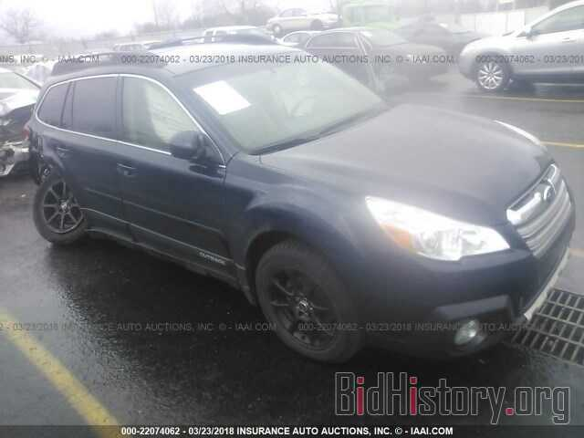 Photo 4S4BRBKC4D3235020 - Subaru Outback 2013