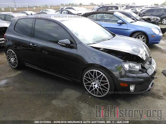 Photo WVWFD7AJ0DW026163 - Volkswagen Gti 2013