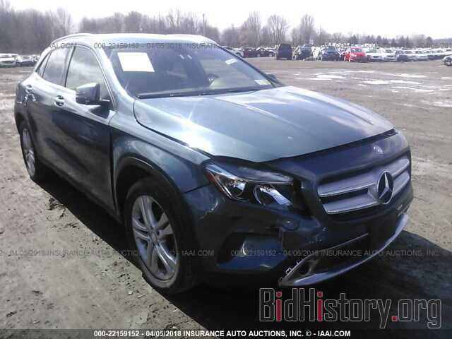 Photo WDCTG4GBXFJ058931 - Mercedes-benz Gla 2015