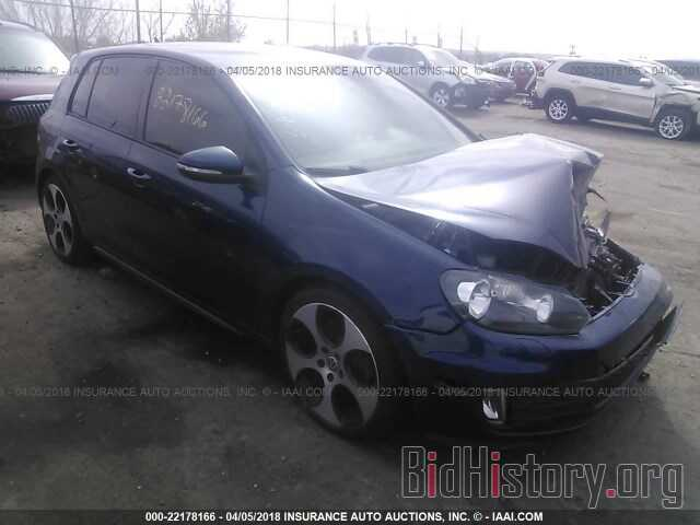 Photo WVWHV7AJ6DW113474 - Volkswagen Gti 2013