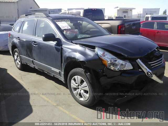 Photo 4S4BRBAC4B3368391 - Subaru Outback 2011