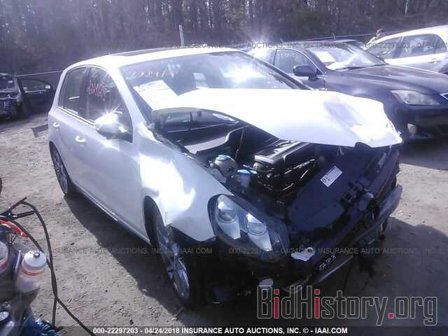 Photo WVWHD7AJ7DW135101 - Volkswagen Gti 2013