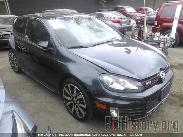 Photo WVWFV7AJ1DW125653 - Volkswagen Gti 2013