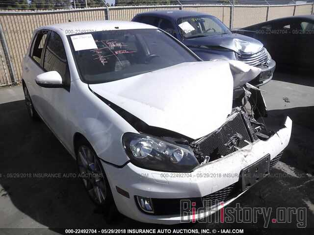 Photo WVWHV7AJ8DW130888 - Volkswagen Gti 2013