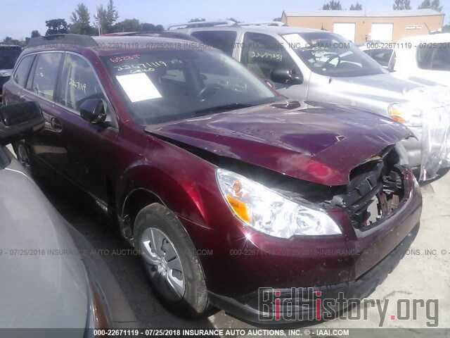 Photo 4S4BRCAC3B3441126 - Subaru Outback 2011