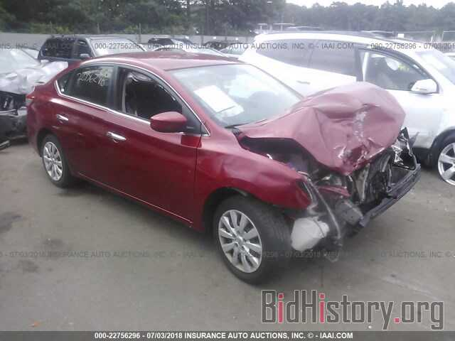 Photo 3N1AB7AP1EY268798 - NISSAN SENTRA 2014