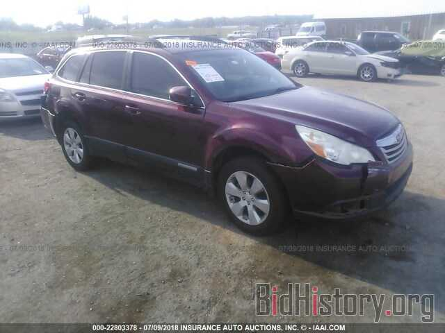 Photo 4S4BRBGCXB3333698 - Subaru Outback 2011