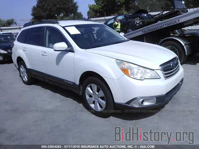 Photo 4S4BRCCC6B3322760 - Subaru Outback 2011