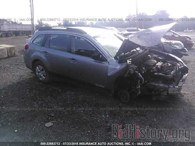 Photo 4S4BRCAC9B3443429 - Subaru Outback 2011